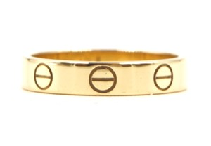Cartier 18K gold Love band ring size 49 3.5mm wide