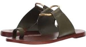 Tory Burch olive green Sandals