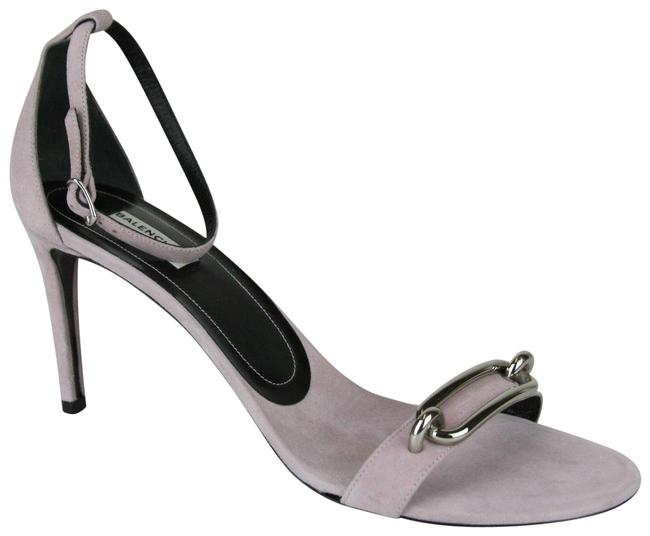 Item - Lilac Women's Suede Heel with Silver Bar It 41/Us 11 363500 7606 Sandals Size EU 41 (Approx. US 11) Regular (M, B)