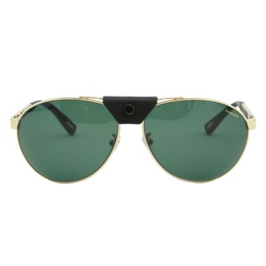 Chopard New Sch-b33 Men Metal Rubber Nosepiece Polarized Aviator Sunglasses