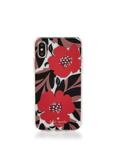 Kate Spade Kate Spade New York Jeweled Poppy Field iPhone X Case