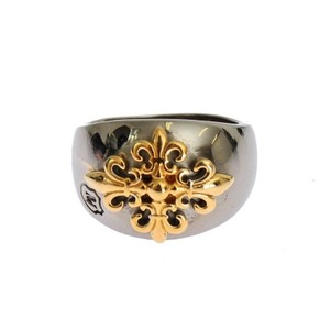 Silver / Gold D18878-3 Plated 925 Ring (Eu 66 / Us 12) Men's Jewelry/Accessory