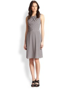 Tory Burch Dvf Lela Rose Career Geometric Dress