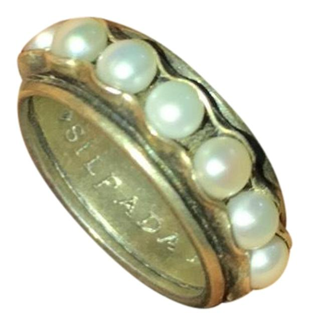 Item - Silver Cultured Pearl Ring
