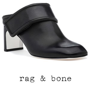 Rag & Bone Black Mules