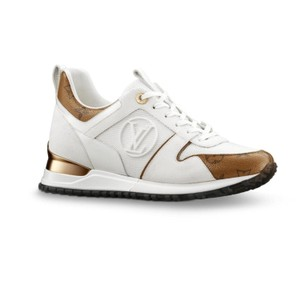 Louis Vuitton White and gold Athletic