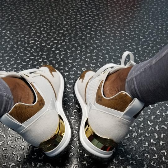 Louis Vuitton White and gold Athletic Image 1