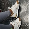 Louis Vuitton White and gold Athletic Image 4
