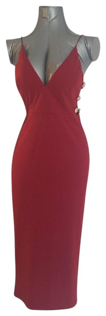Preload https://img-static.tradesy.com/item/24239409/red-cutout-fitted-midi-mid-length-cocktail-dress-size-8-m-0-1-650-650.jpg