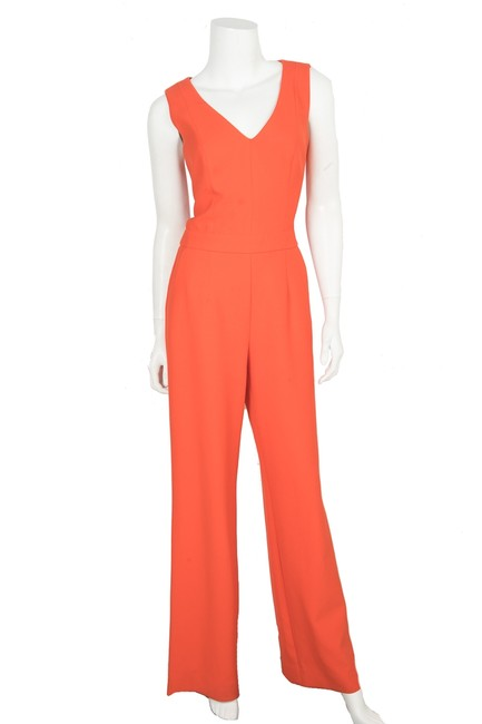 Preload https://img-static.tradesy.com/item/24239464/trina-turk-orange-sleeveless-wide-leg-romperjumpsuit-0-0-650-650.jpg