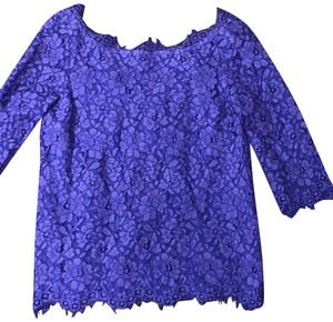 b7ccf2d46fed50 Blue Saks Fifth Avenue Tops - Up to 70% off a Tradesy