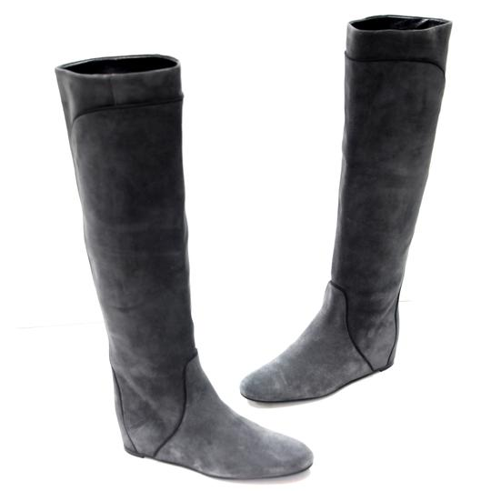 Preload https://img-static.tradesy.com/item/24239628/lanvin-grey-and-black-pipe-lining-suede-knee-high-concealed-wedge-bootsbooties-size-us-5-regular-m-b-0-0-540-540.jpg