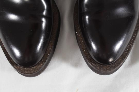 Brunello Cucinelli Loafers Flats Chunky Leather Brown Formal