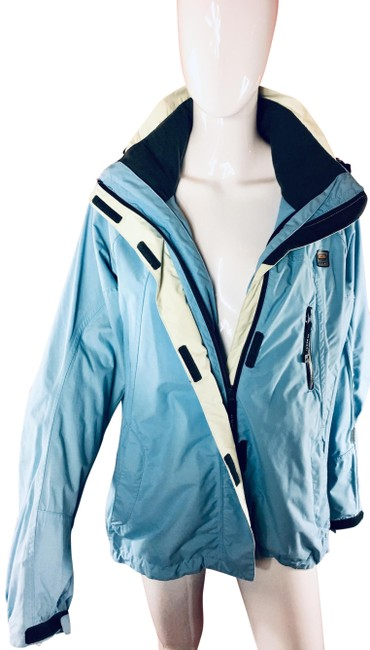 Preload https://img-static.tradesy.com/item/24239768/light-blue-young-and-sporty-shell-coat-size-12-l-0-1-650-650.jpg