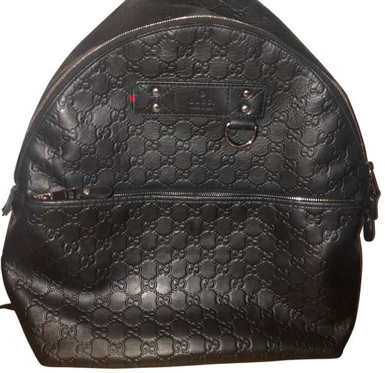 Preload https://img-static.tradesy.com/item/24239777/gucci-guccissima-black-leather-backpack-0-1-540-540.jpg