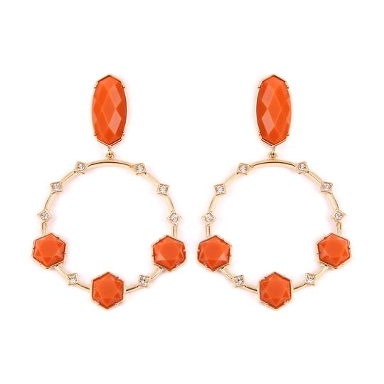Preload https://img-static.tradesy.com/item/24240019/orange-geometric-stone-post-drop-hoop-earrings-0-1-540-540.jpg