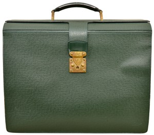 Louis Vuitton Briefcase Attache Case Taiga Leather Attache Laptop Bag