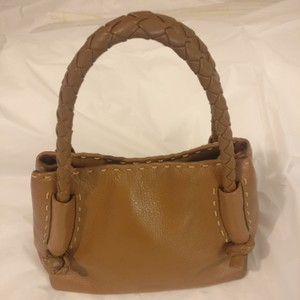 Desmo Handbag Sale Satchel in Tan Brown