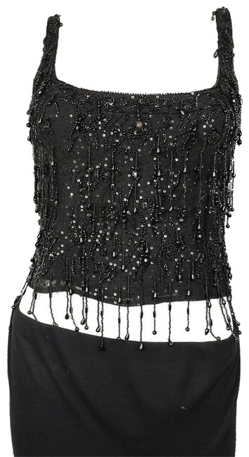 Preload https://img-static.tradesy.com/item/24240267/valentino-black-sequined-and-beaded-crop-tank-topcami-size-4-s-0-1-650-650.jpg