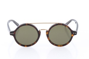 Céline Celine Brown Havana Green CL41442/F/S Round Sunglasses