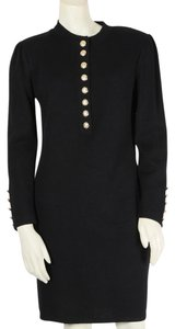 St. John short dress Black Santana Knit Sweater on Tradesy