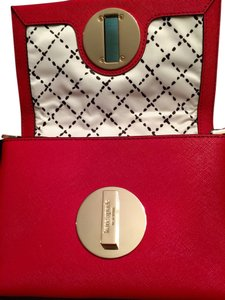 Kate Spade Red Mini Mini Cross Body Bag