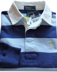 Rugby Ralph Lauren Polo Striped 2 Boy's Shirts Button Down Shirt Rugby