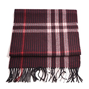 Burberry Burberry Cashmere Military Stitch Giant Check Scarf