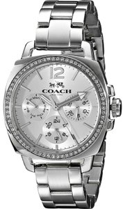 Coach Coach Ladies Boyfriend 34mm Bracelet Watch with Chronograph