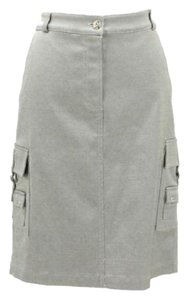 St. John short dress Gray on Tradesy