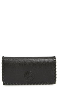 Tory Burch Tory Burch Marion Envelope Continental Wallet Black