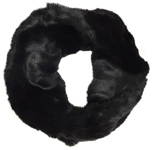 Neiman Marcus Faux Chinchilla Double Face Infinity Scarf