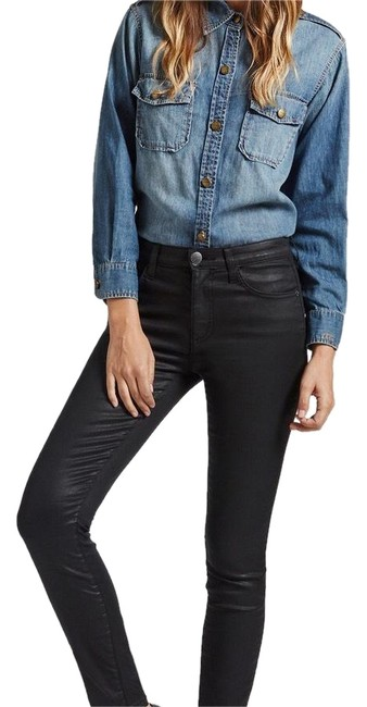 Item - Coated High Waisted Ankle Skinny Jeans Size 2 (XS, 26)
