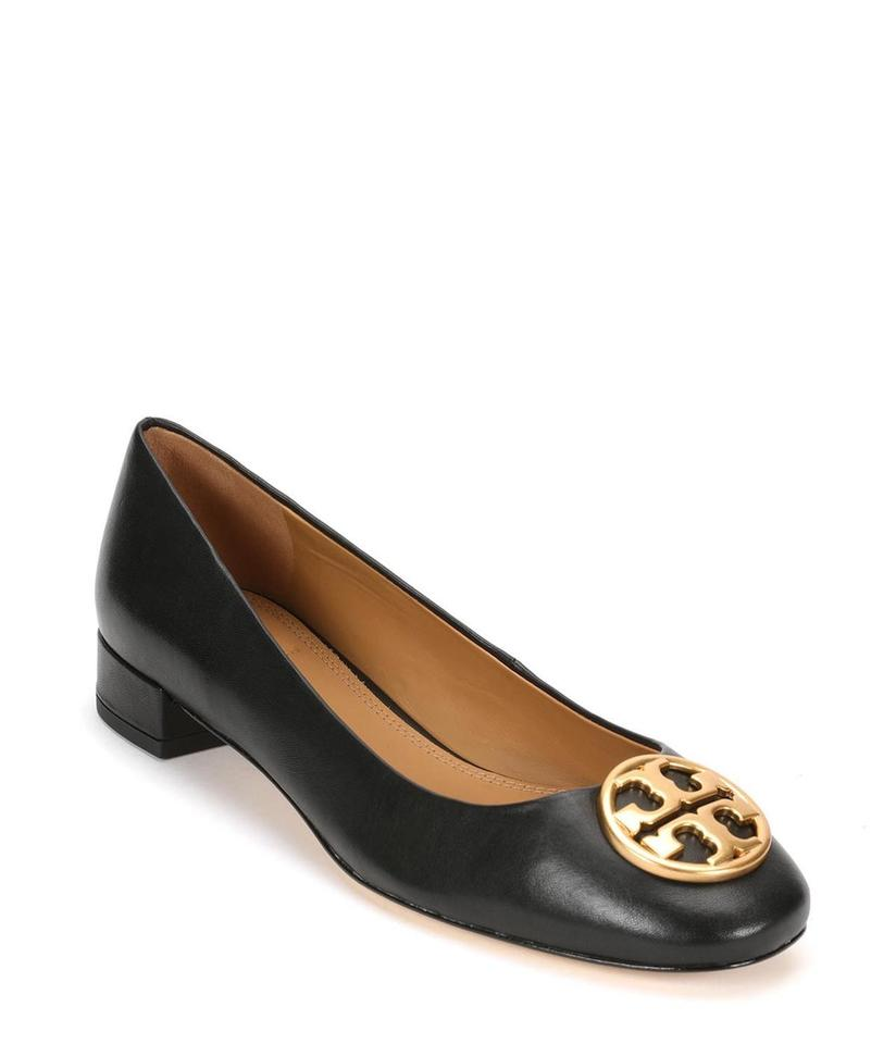 8ad3f5338ce Tory Burch Black 25mm Chelsea Ballet Flats Size US 10 Regular (M