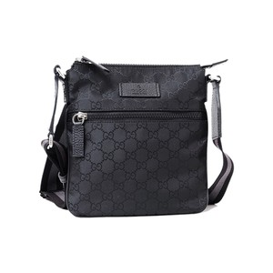 9ddc49650a8 Gucci Unisex Cross Body 449183 Black Canvas Messenger Bag - Tradesy