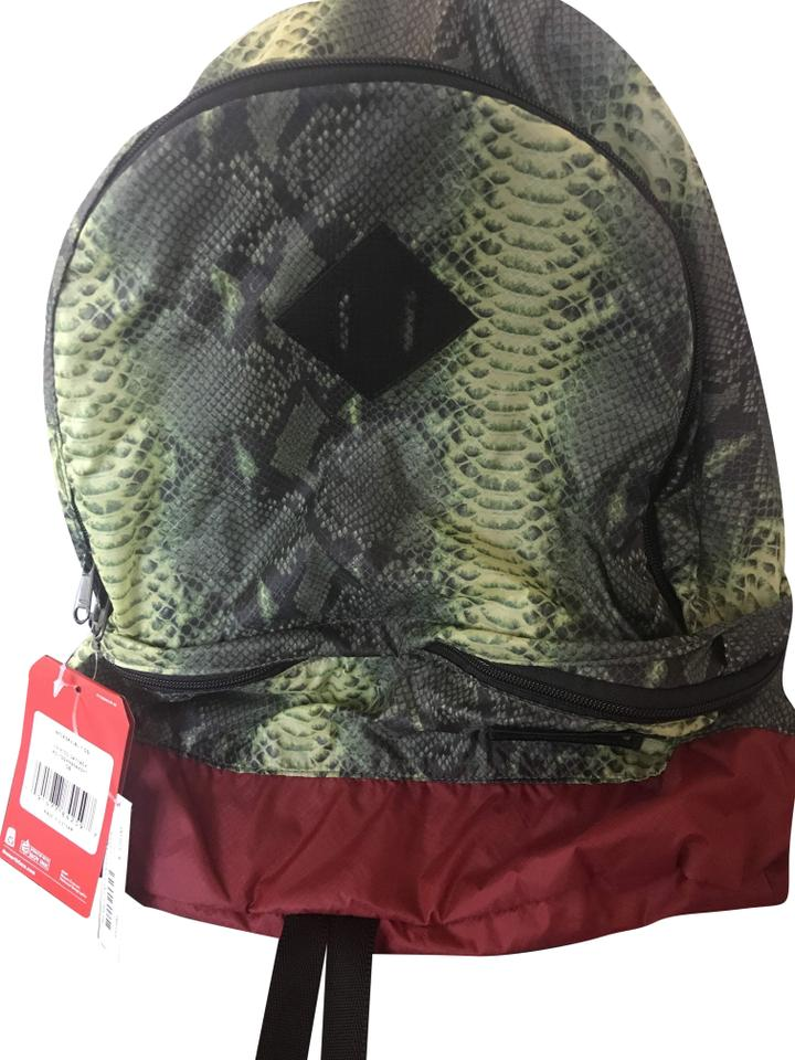 dc1caa6f5 Supreme The North Face Snakeskin Lightweight Day Pack Green Nylon ...