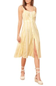 Yellow Maxi Dress by Reformation