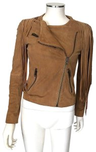 Haute Hippie Olive Green Leather Jacket