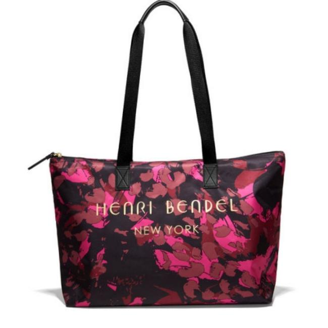 Item - Spring Sale-limited Edition Floral Print Multicolor Nylon Tote