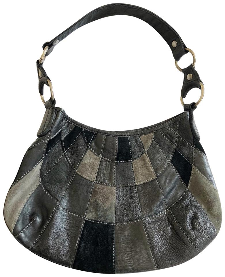 2c94dbe8a3 Lucky Brand Patchwork Leather Hobo Bag - Tradesy