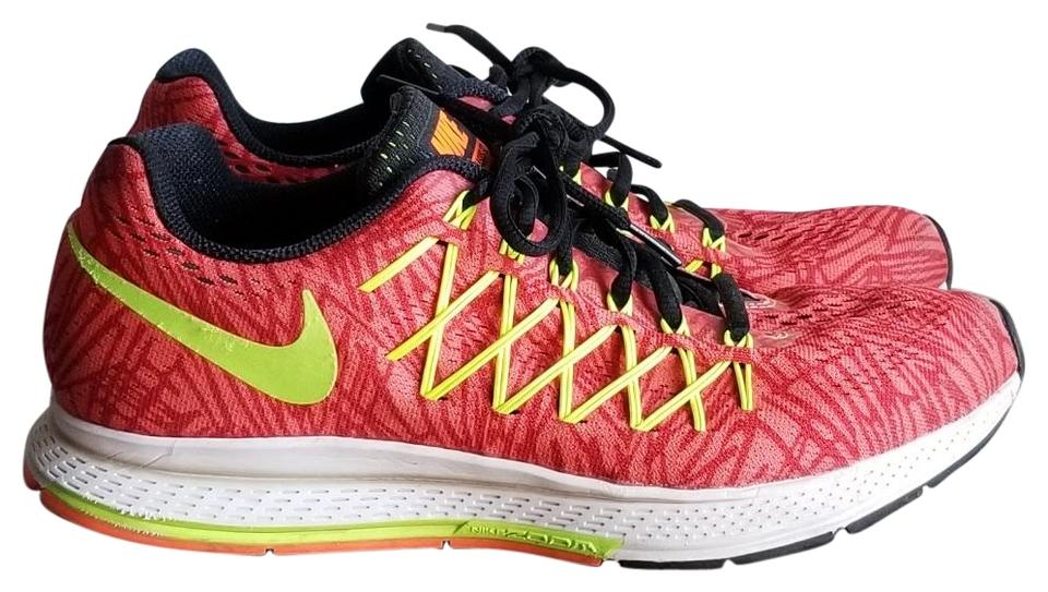 acheter populaire 7e0f9 0710a Nike Red Yellow Zoom Pegasus 32 Running Sneakers Size US 9.5 Regular (M, B)  54% off retail