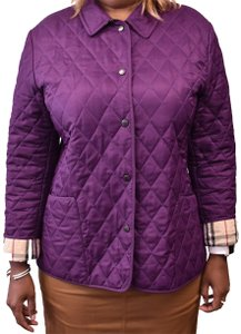 Burberry Nova Check Quilted Jacket Coat