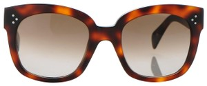Céline SALE NEW Celine CL41805/S New Audrey Havana Brown Sunglasses