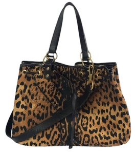 Saint Laurent Tote in leopard and black