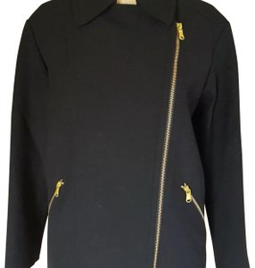 Marc Jacobs black and gold Blazer