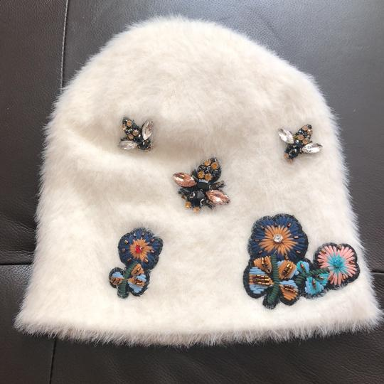 Anthropologie New Sleeping on Snow Jeweled Beanie Image 1