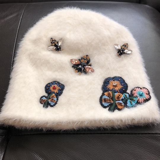 Anthropologie New Sleeping on Snow Jeweled Beanie Image 2