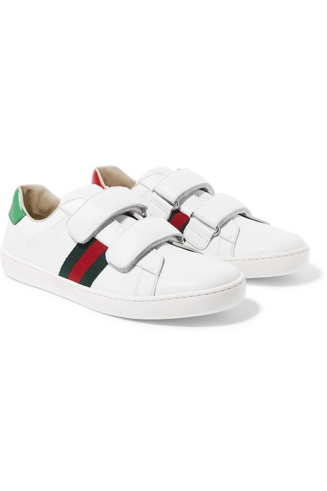 eba69f70e Gucci White Children Unisex Velcro Low Top Trainers Sneakers Size EU ...