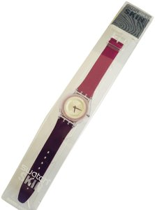 Swatch Classic Collectors Purple Swatch Skin Watch