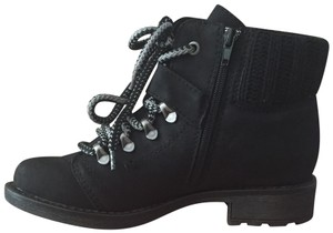9723a5e4b932f American Rag Ankle Lace-up Zip-up Black Boots